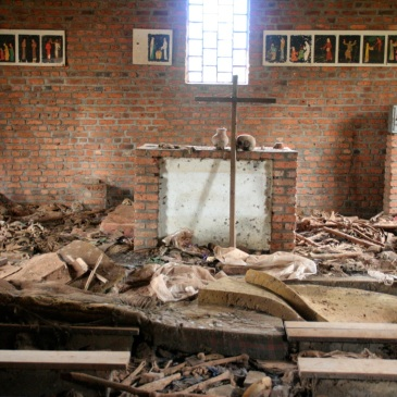 Church in Ntarama, Rwanda