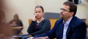 Jared Burkholder teaching