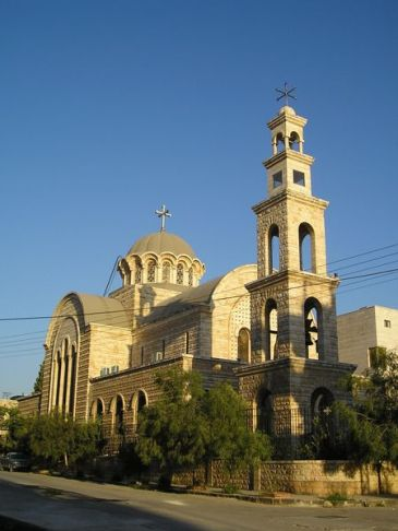 Orthodox Church in Hama, Syria