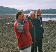 Stott birdwatching in 2006