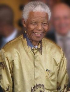 Mandela in 2008