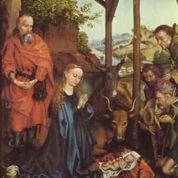 Schongauer Nativity scene