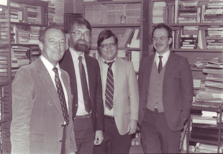 Jim Johnson, Kevin Cragg, G.W. Carlson, and Neil Lettinga