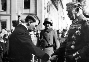 Hitler with Paul von Hindenburg, March 1933