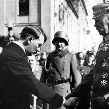 Hitler with Paul von Hindenburg, March 1933