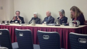 A. Greg Roeber and panel at ASCH 2014 in D.C.