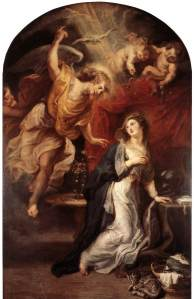 Rubens, The Annunciation