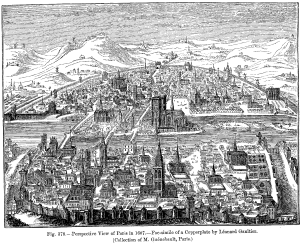 Paris in 1607