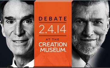 Ad for the Nye-Ham Debate
