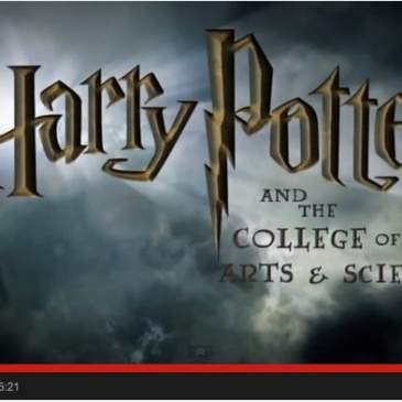 Harry Potter and the College of Arts and Sciences