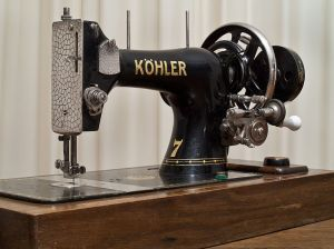 Vintage Köhler sewing machine