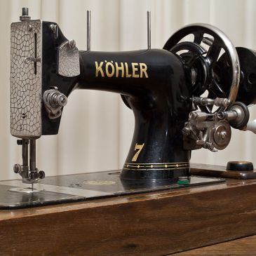 Vintage Köhler sewing machine