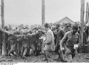 Soviet POWs in July 1941