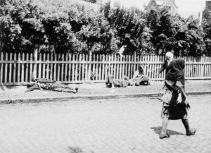 Starvation victims in 1933 Ukraine