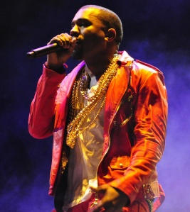 Kanye West at Lollapalooza 2011