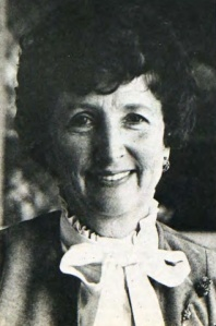 Nancy as photographed for an April 1982 Clarion article