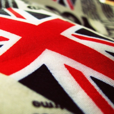 Union Jack on a handbag