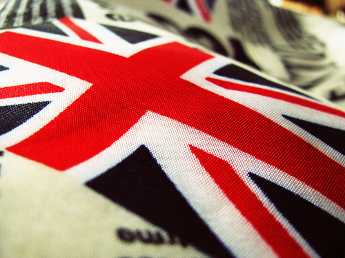 Union Jack on a handbag