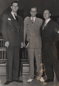 Billy Graham and Bob Pierce, 1947