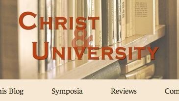 Header for the Christ & University blog