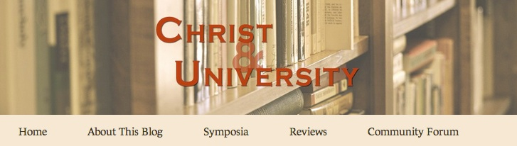 Header for the Christ & University blog