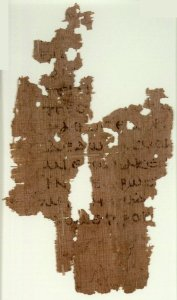 John 17:23-24 on Papyrus 108