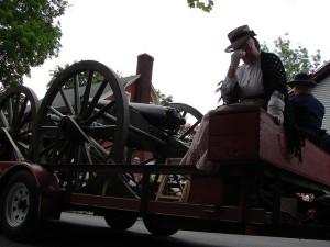 Memorial Day parade in Boalsburg, Pennsylvania
