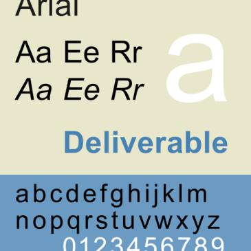 Arial specimen