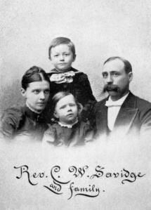 Charles Savidge and family, ca. 1892