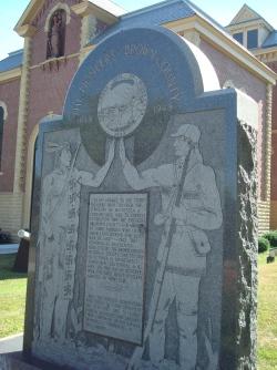 Pioneers Memorial in New Ulm, Minnesota