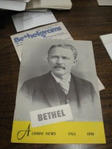 1956 Bethel alumni publication
