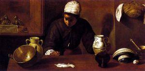 """Velázquez, """"Kitchen Maid at Emmaus"""""""
