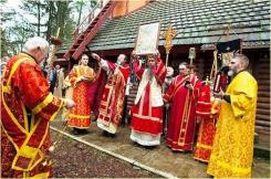 Russian Orthodox procession in Mulino, OR - Russian Orthodox Church