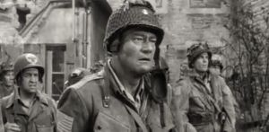 John Wayne in The Longest Day