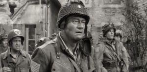 John Wayne in The Longest Day