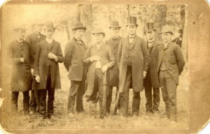 Covenant pastors in 1889