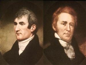 Meriwether Lewis and William Clark