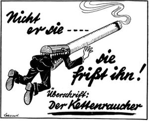1941 Nazi anti-smoking ad