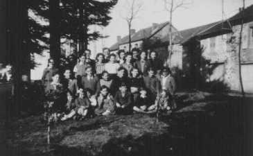 Jewish children in Le Chambon