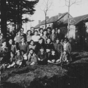 Jewish children in Le Chambon