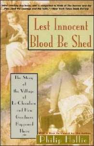 Hallie, Lest Innocent Blood Be Shed