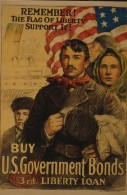 WWI propaganda poster directed at recent immigrants