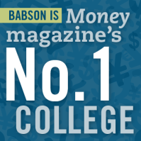 Babson College wins the first Money ranking