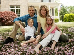 Mark Totten and family
