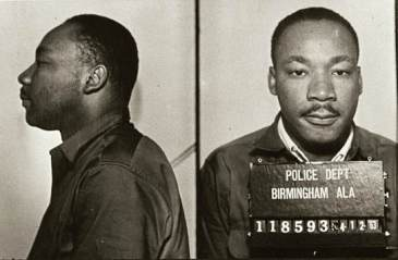 MLK's April 1963 mugshot