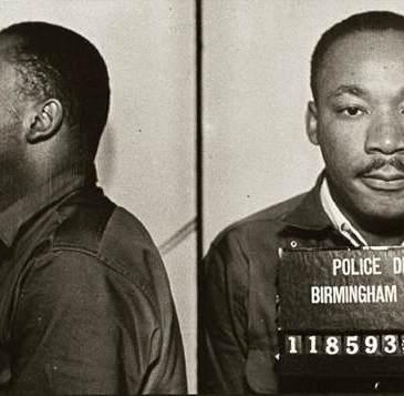 MLK's April 1963 mugshot