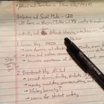 Notes for my CFH2014 presentation on blogging