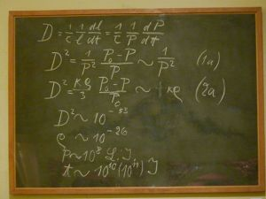 Einstein's Oxford Blackboard