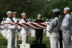 2009 Navy committal ceremony at Arlington Nat'l Cemetery