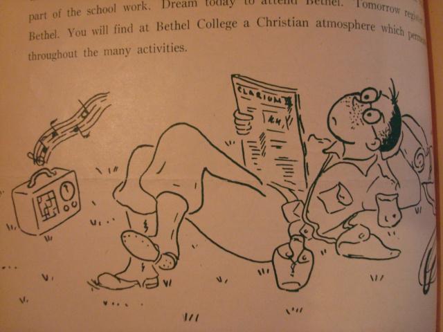 G.I. Bill-themed summer 1945 issue of the Bethel Bulletin